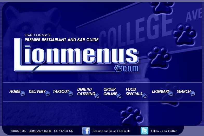 menu domains