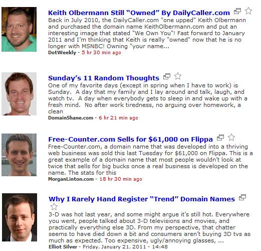 Domain Bloggers
