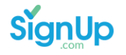Signup domain name