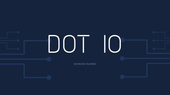 Starting up with Dot io