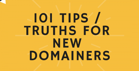 Tips For New Domainers