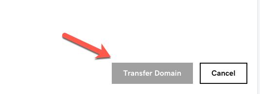 transfer godaddy domain
